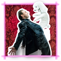 Frank Wells le ventriloque::Frank Wells le ventriloque et handy son chien cabaret music hall